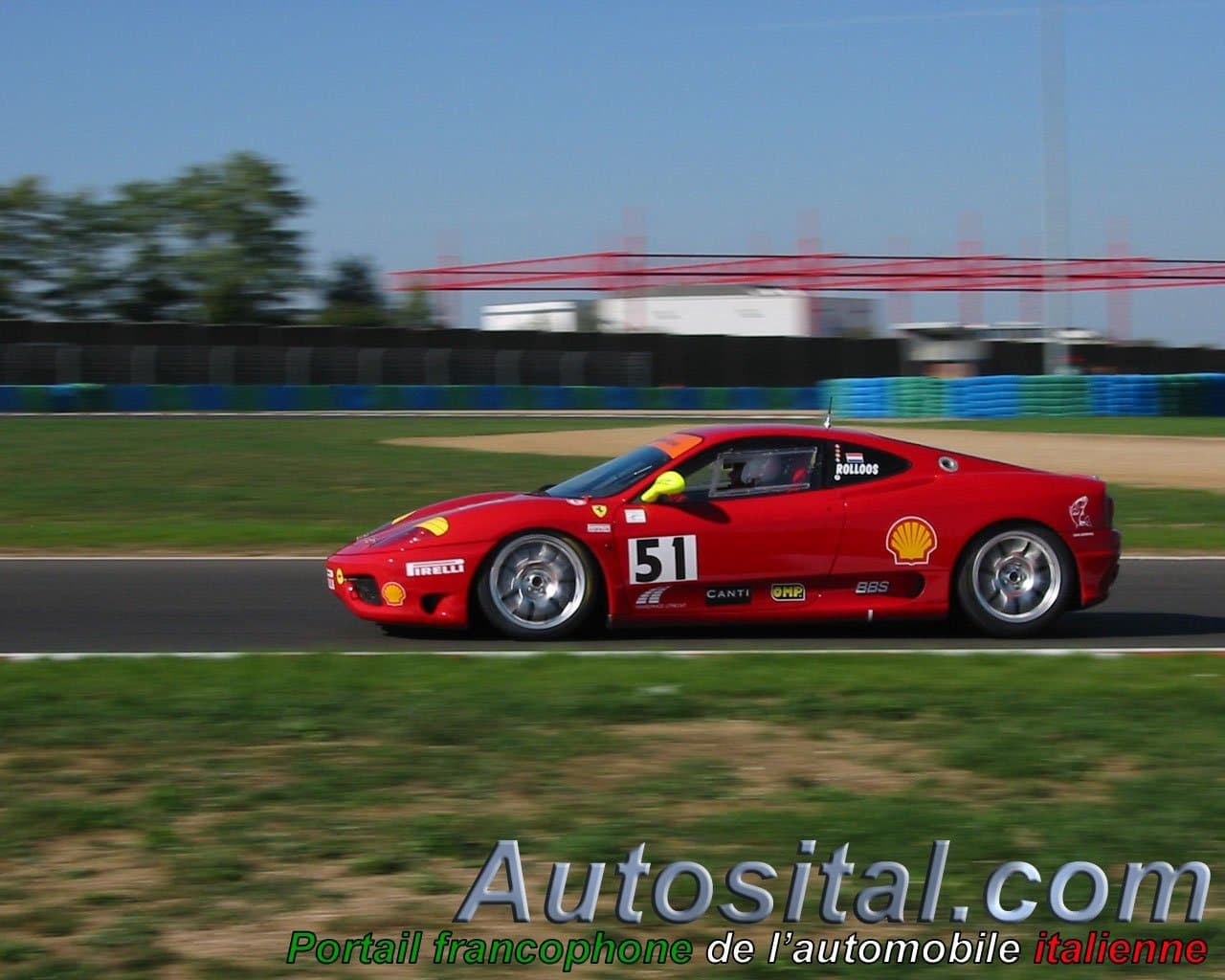 Ferrari 360 Modena Challenge - Magny-Cours 2003