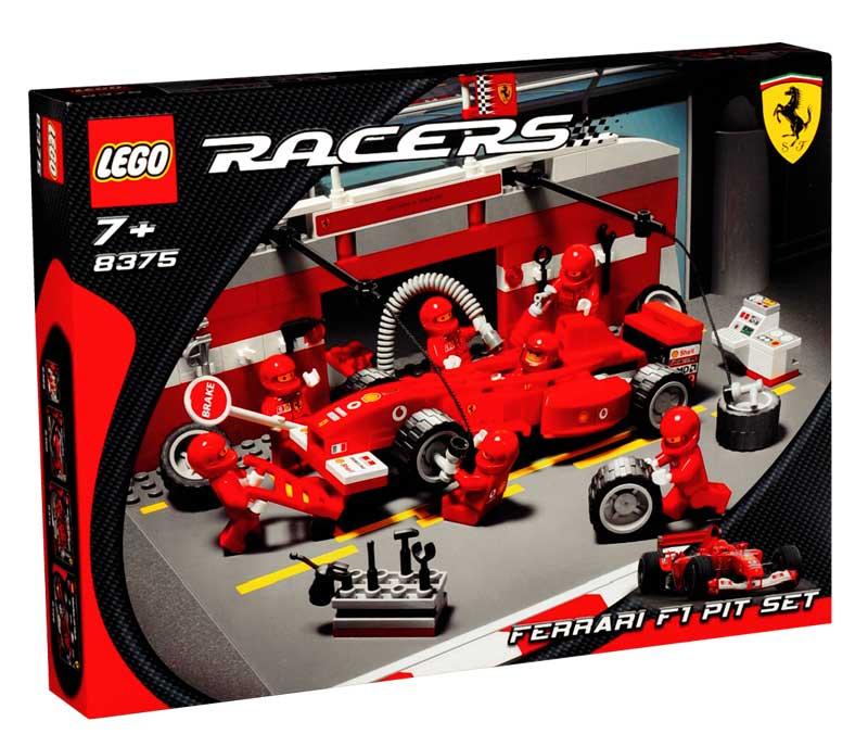 Ferrari F1 Pit Set