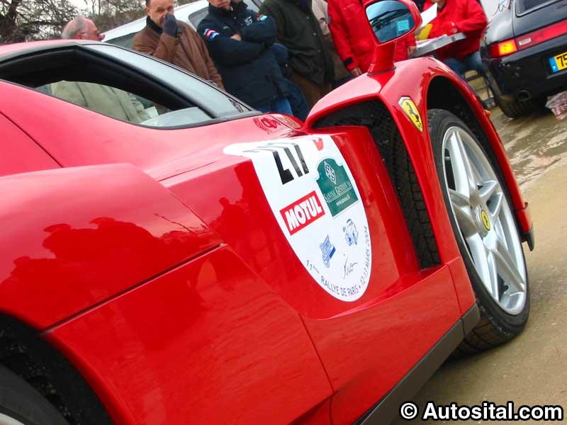 11ème Rallye de Paris, beaucoup d'italiennes, peu d'élues