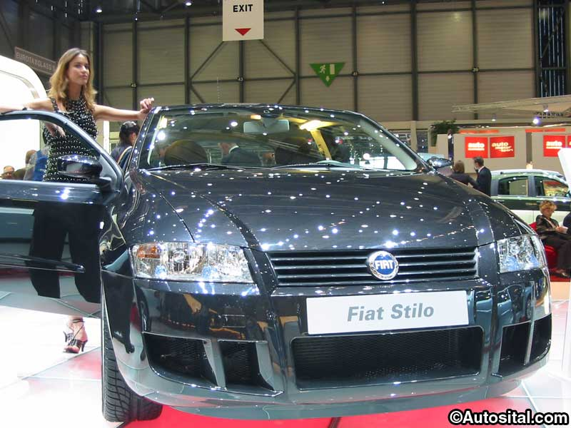 Genève 2004 - Stand Fiat