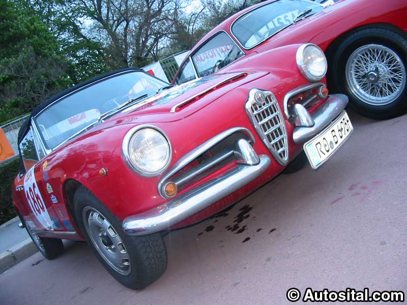 Alfa Romeo 1600 Spider 1963