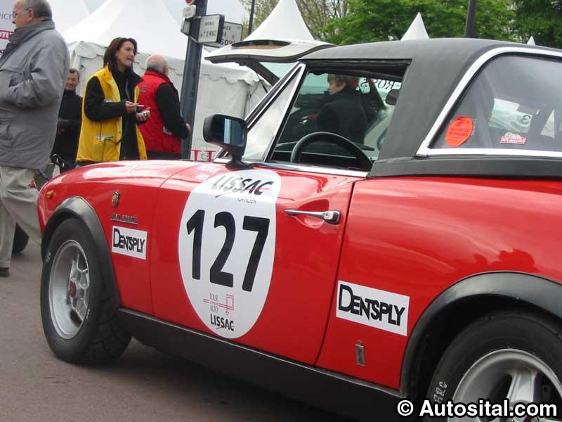 Fiat 124 Abarth 1973