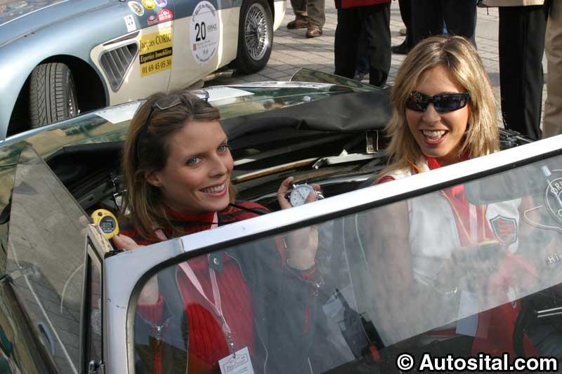 Sylvie Tellier - Miss France 2002, et Sally Woodford-Brochet