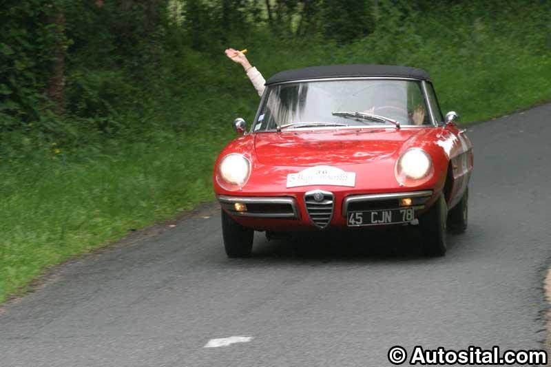 Rallye des Princesses 2004, des italiennes discrètes