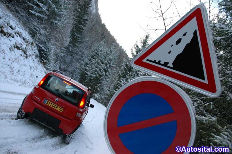 Fiat Panda 4x4 Climbing