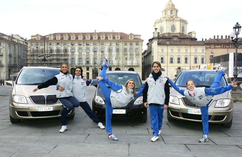 L'équipe nationale italienne de patinage artistique