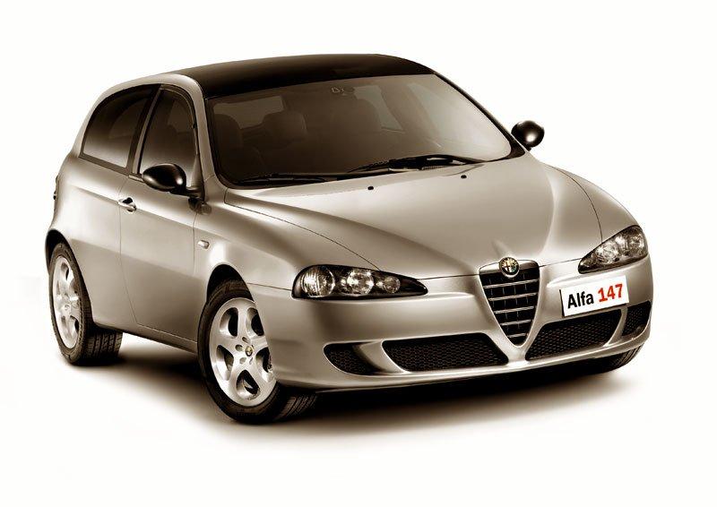 Alfa Romeo 147 Black Design