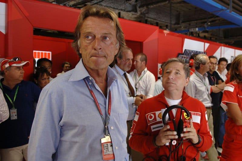 Luca di Montezemolo et Jean Todt