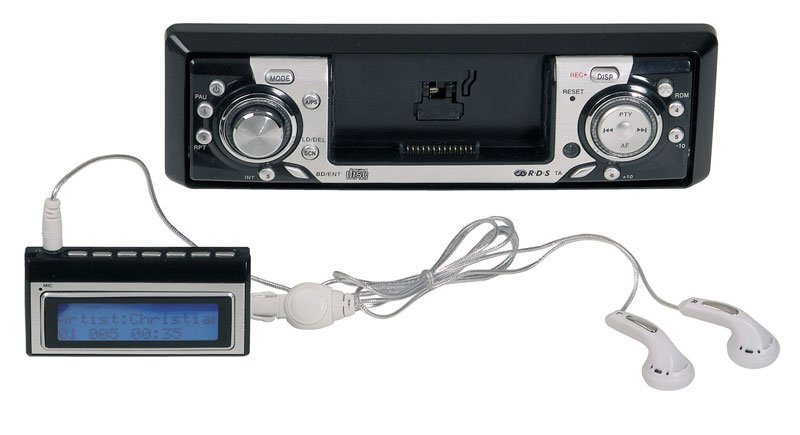 "Autoradio/baladeur MP3 Tokaï ""LAR-301RM"" enregistreur radio et CD - Feu Vert - 189 € TTC"