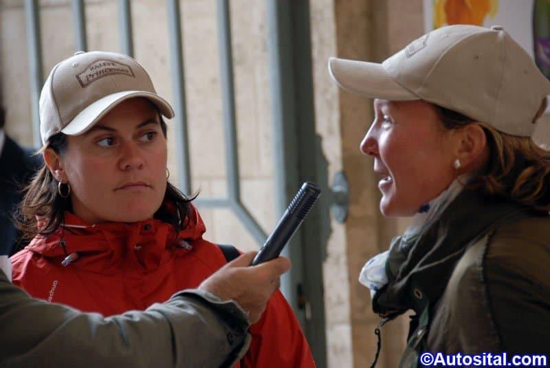 Carole Montillet et Mélanie Suchet