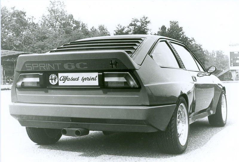 Prototype Alfasud Sprint 6C
