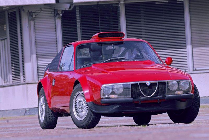 Prototype Alfa Romeo Junior Z Periscopio