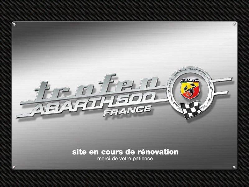 Annulation du Trofeo Abarth 500 France