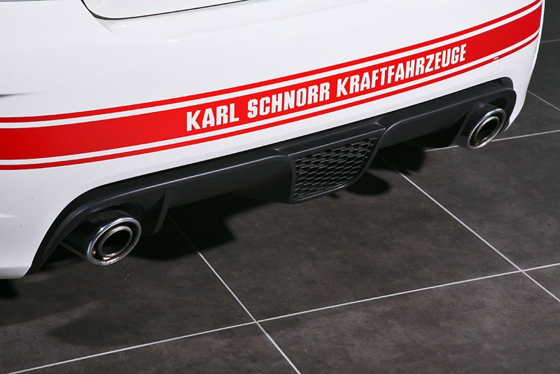 Karl Schnorr Kraftfahrzeuge offre 200 chevaux à la 500 Abarth