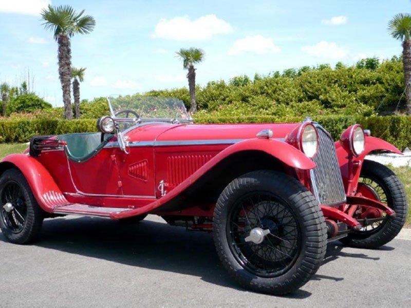 Alfa Romeo 6C 1750 GS de 1932