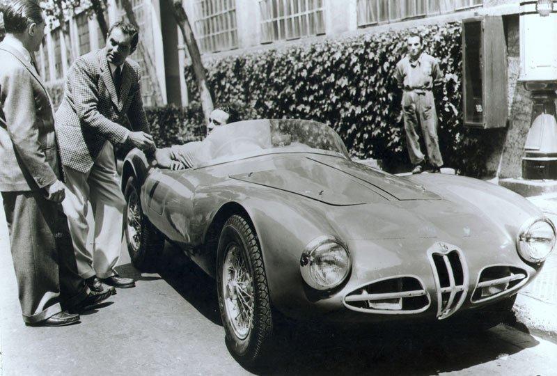 Alfa Romeo C52 Spider Disco Volante de 1952