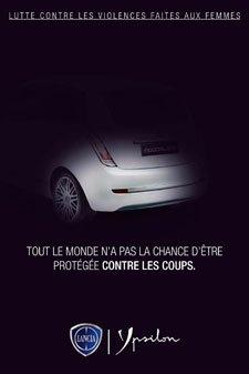 Visuel Lancia soutient la lutte contre les violences faites aux femmes