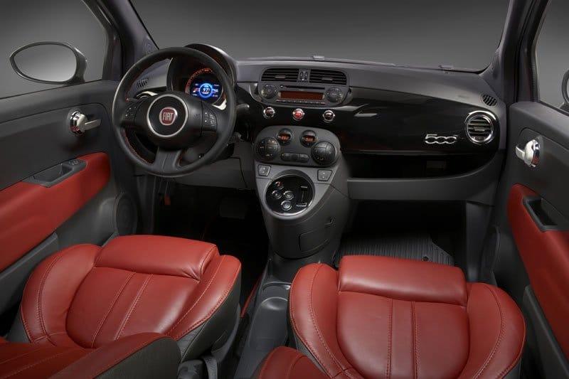 Concept Fiat 500 EV par Chrysler
