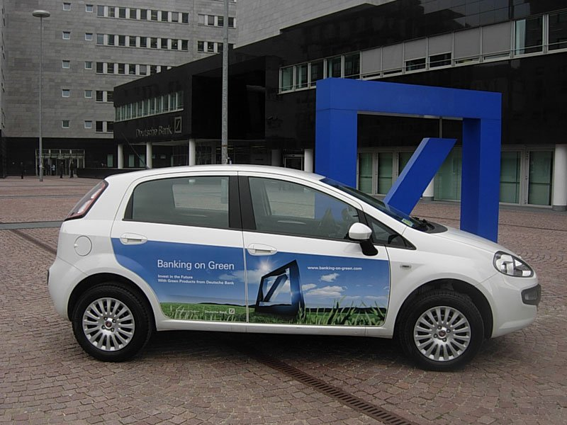 Fiat Punto Evo Natural Power Deutsche Bank