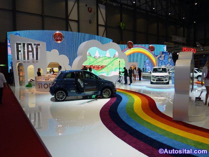 Genève 2010 : Fiat récompensé pour son stand