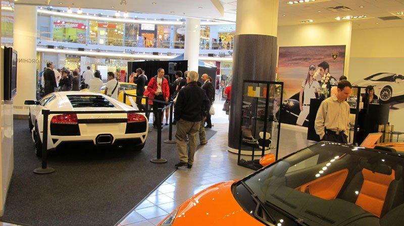 Boutique Lamborghini de Vancouver, Canada