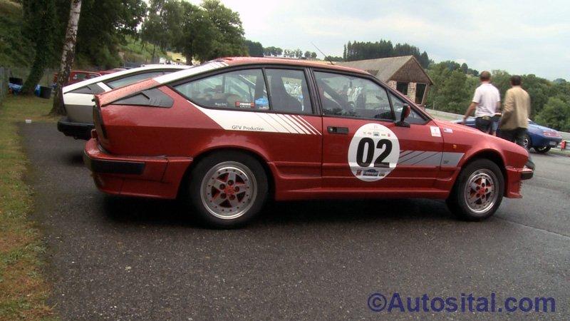 Alfa Romeo GTV Production