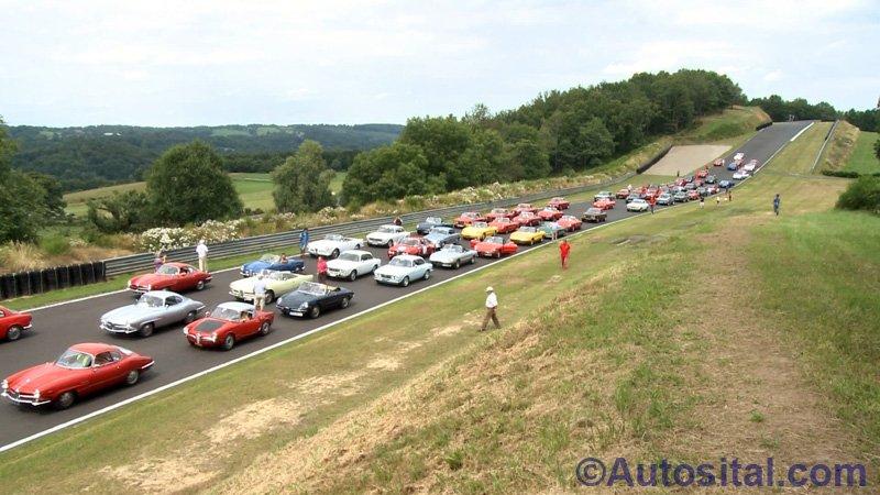 Défilé Alfa Romeo - Mas du Clos