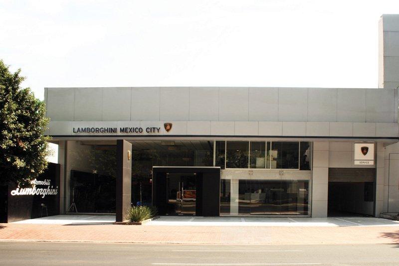 Concession Lamborghini au Mexique