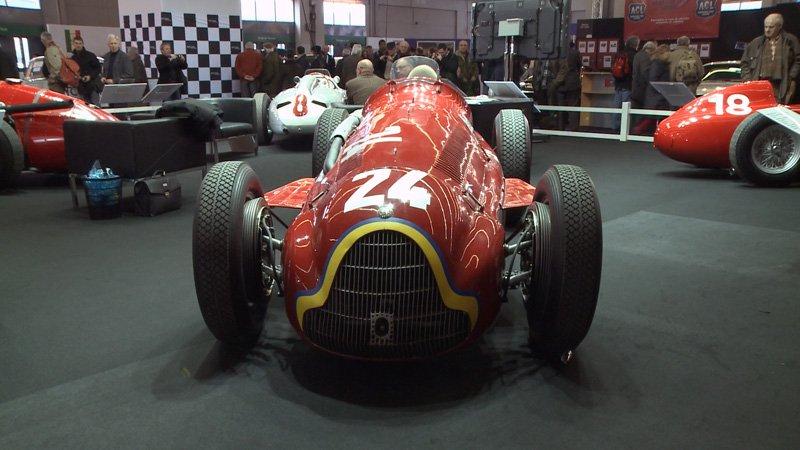 Rétromobile 2011 : Alfa Romeo Alfetta Tipo 159