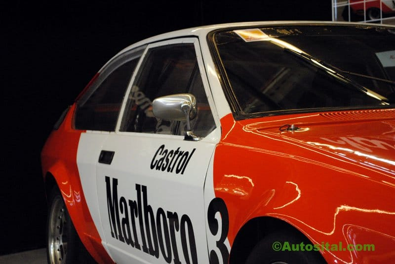 Rétromobile 2011 : Alfa Romeo Alfetta GTV6 Production
