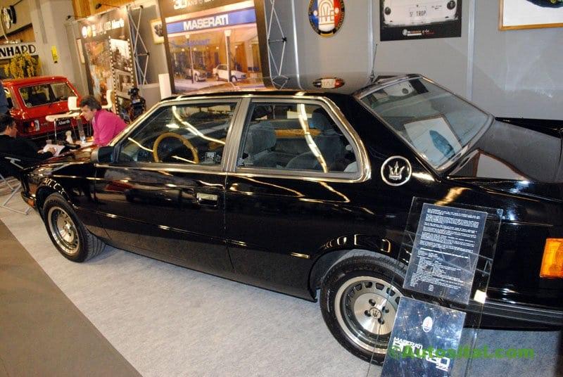 Rétromobile 2011 : Maserati 222 Biturbo de 1989