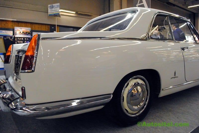 Rétromobile 2011 : Coupé Lancia Flaminia Pininfarina de 1961