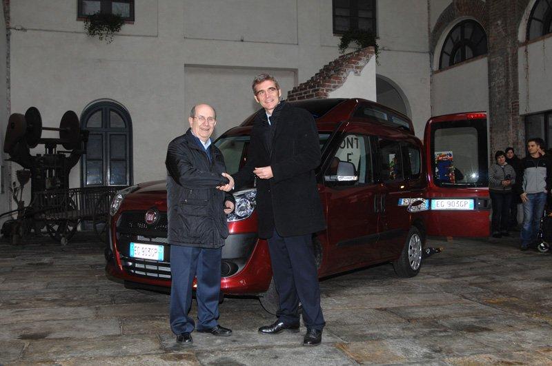 Fiat offre un Doblo Autonomy pour les enfants malades