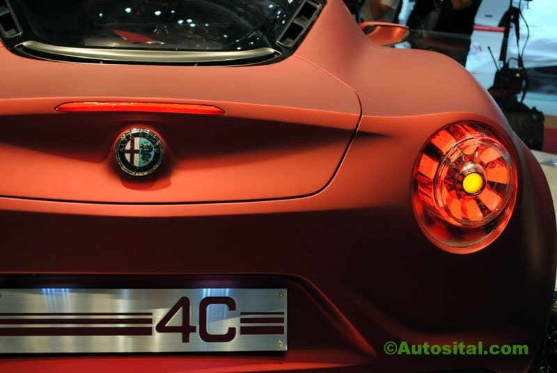 Concept Alfa Romeo 4C