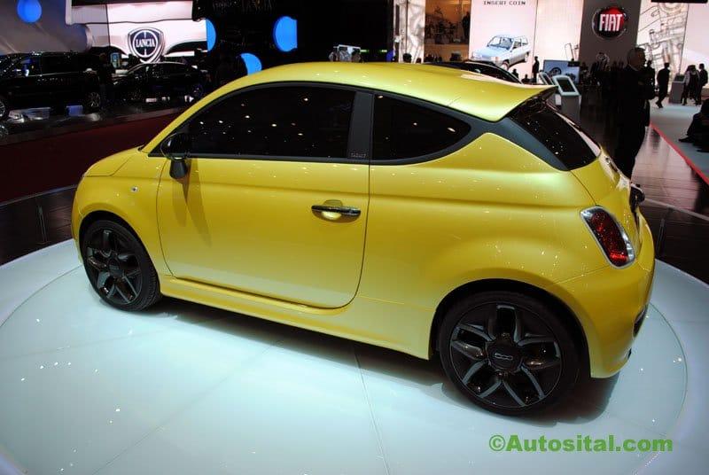 Concept Fiat 500 Coupé Zagato