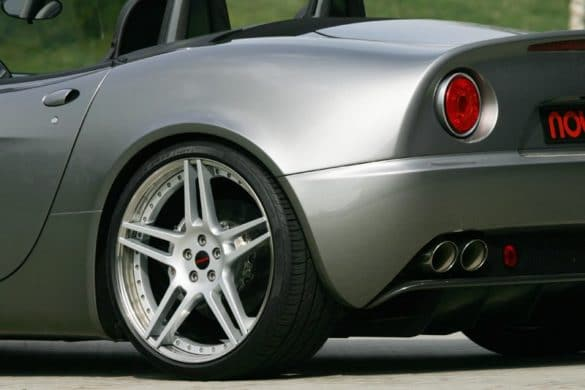 Alfa Romeo 8C Spider Novitec