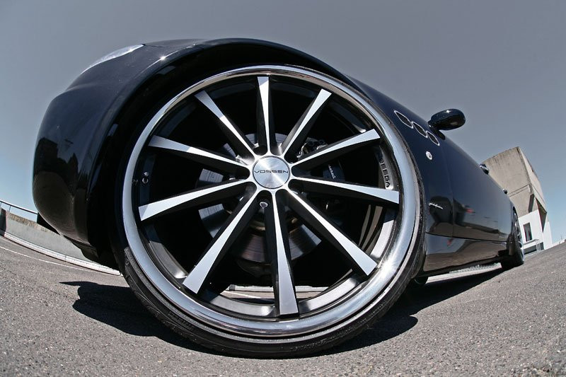 Maserati Quattroporte MR Car Design
