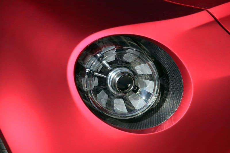 L'Alfa Romeo 4C Concept au Motorvillage
