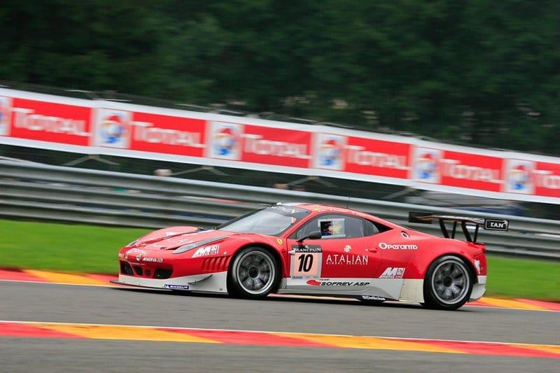 24 Heures de Spa 2011 - Patrice Goueslard