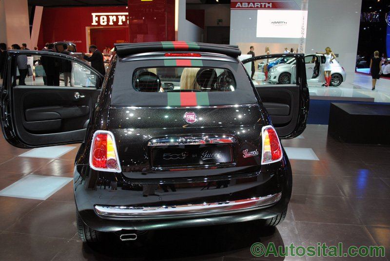 Francfort 2011 - Fiat 500C by Gucci