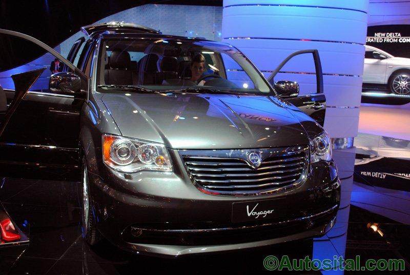 Francfort 2011 - Lancia Voyager