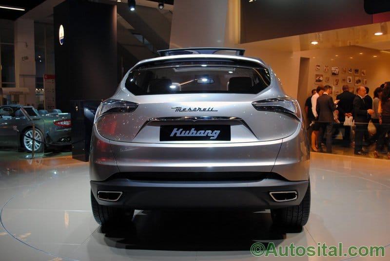 Francfort 2011 - Concept Maserati Kubang 2011