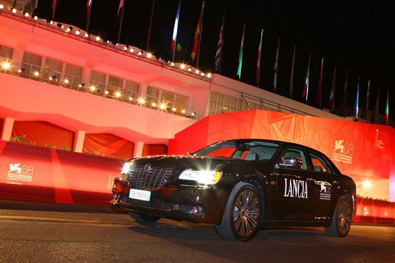 Lancia Thema 2011, véhicule officielle de la 68ème Mostra de Venise