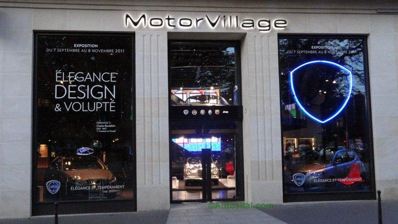MotoVillage 2011 - Lancia : Elégance, Design & Volupté