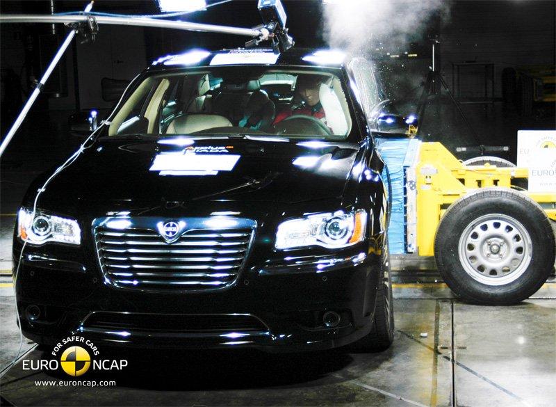 Crash test EuroNCAP Lancia Thema