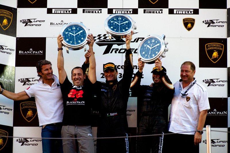 Lamborghini Blancpain Super Trofeo 2011