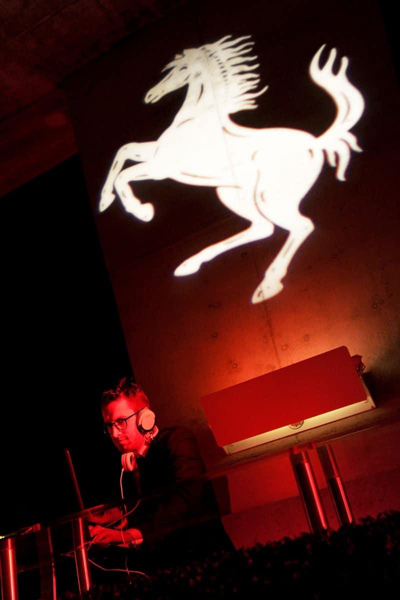La soirée Ferrari au Art Basel Miami Show