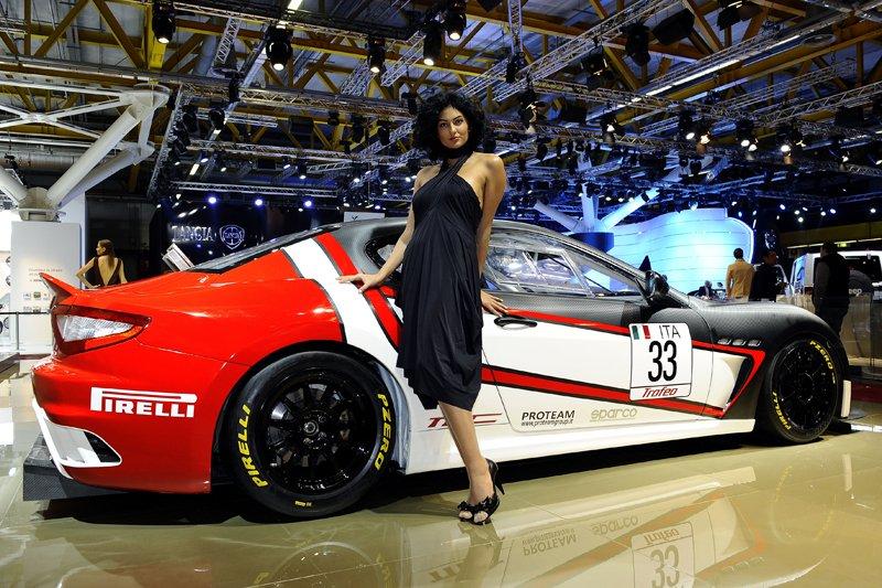 Salon de Bologne 2011 - Stand Maserati