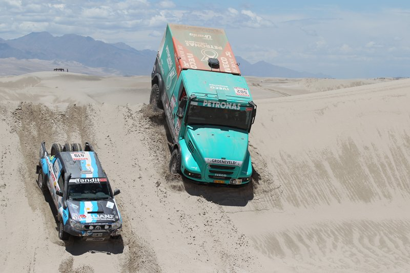 Team Petronas De Rooy Iveco pour le Dakar 2012