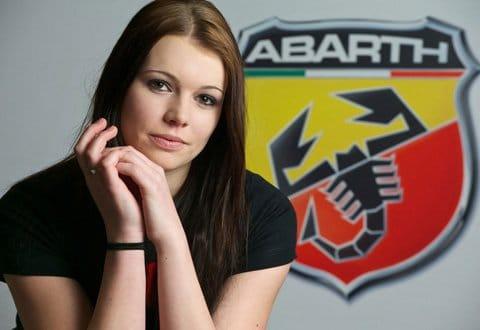Ladina Kägi, gagnante du Casting Abarth Suisse 2012
